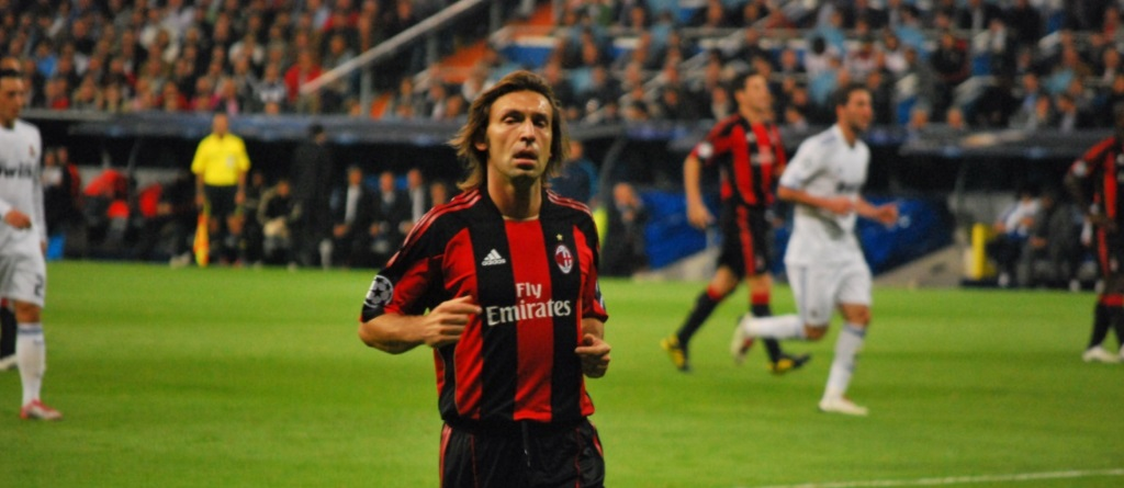 Pirlo had a hobby that you wouldn't expect of him