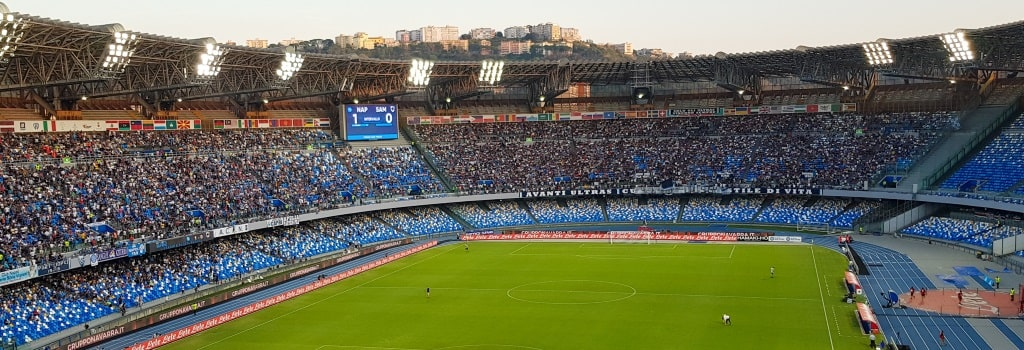 Inside of the Stadio San Paolo