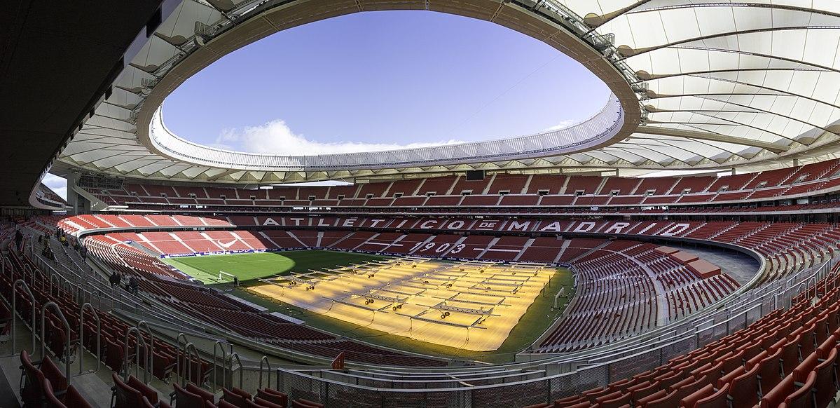 Atletico Mardid's Wanda Metropolitano