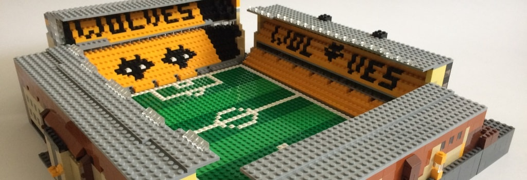 Wolves' Molinuex stadium built out of Lego