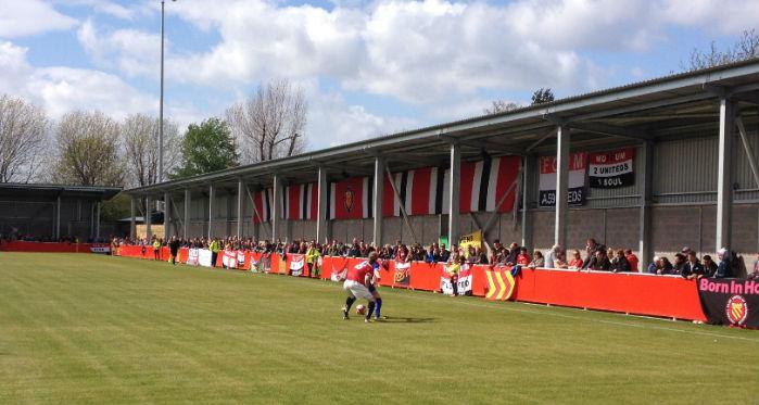 FC United of Manchetser's Broadhurst Park, Tony's 2,000th football ground