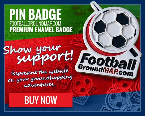 Buy the Football Ground Map pin badge