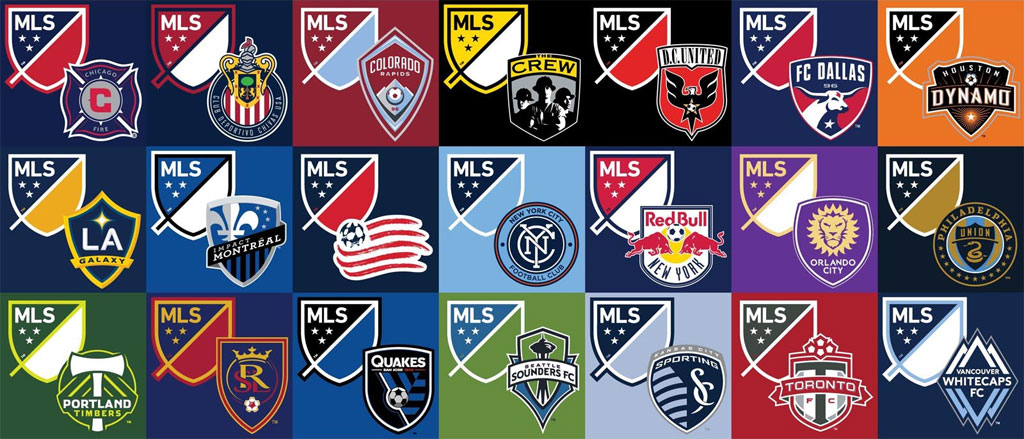 Major League Soccer badges