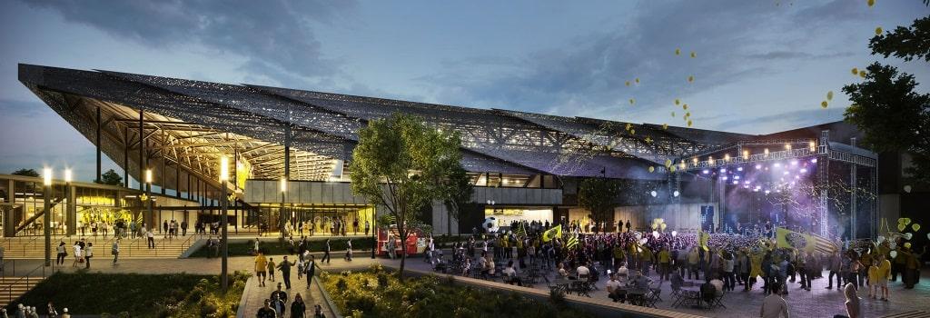 New Columbus Crew stadium: Concert