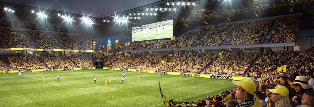 New Columbus Crew stadium: South