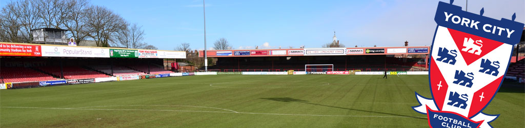 Bootham Crescent won't be around much longer