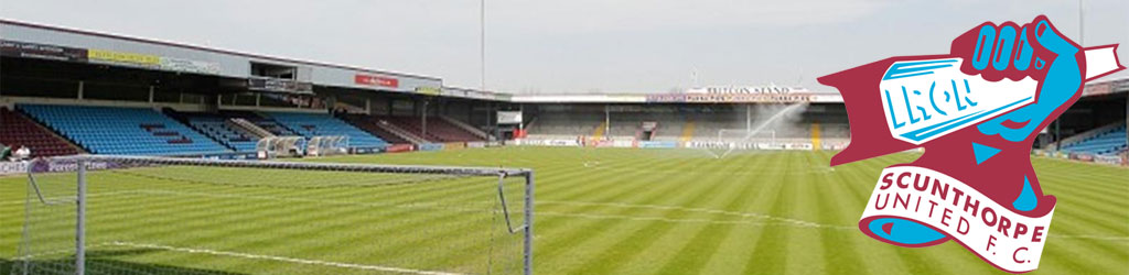 Scunthorpe United are planning to move away from Glanford Park on 2016