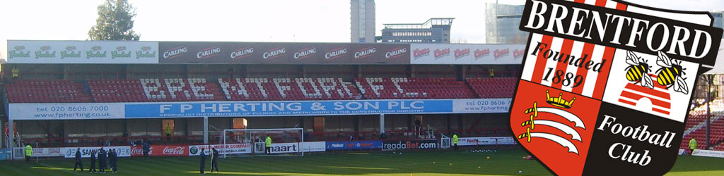 Brentford are hoping to move from Griffin Park in the near future