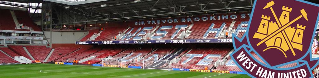 The 2015/2016 season is West Ham's last Upton Park (Boleyn Ground)