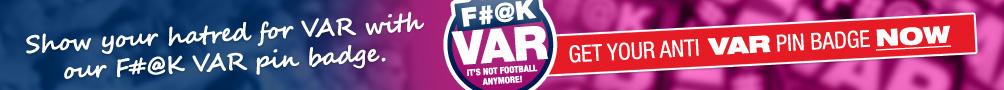 F#@k VAR pin badge