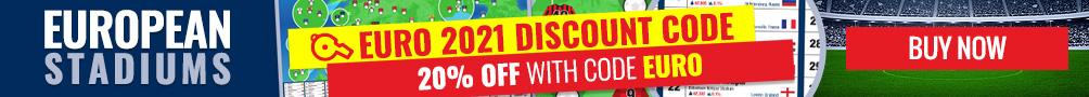 Buy our exclusive European football stadium poster