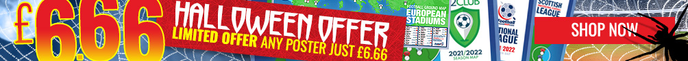 Halloween offer - any poster just £6.66!